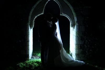 Laura + Byron | Langley Abbey