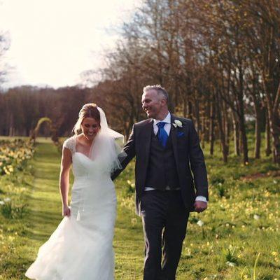 LAURAN + RICK - CHAUCER BARN WEDDING