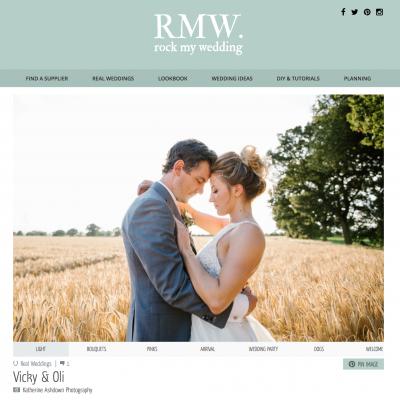 Rock My Wedding Feature!